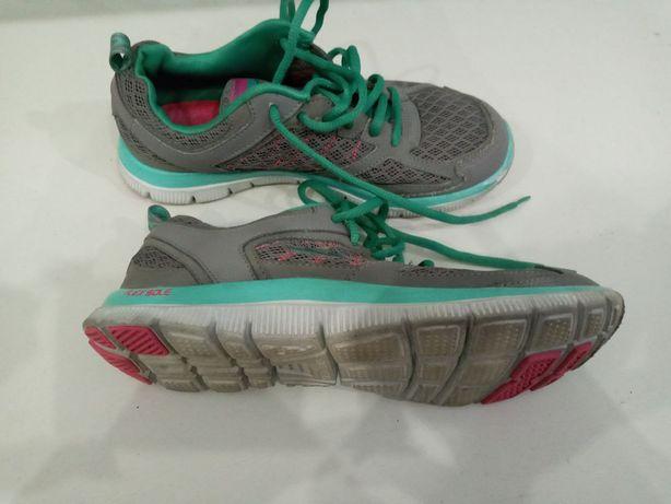 Кроссовки серые текстильные для девочки кеды обувь спортивная