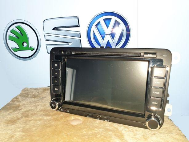 Rádio DVD para VW Golf, Skoda e Seat - GPS