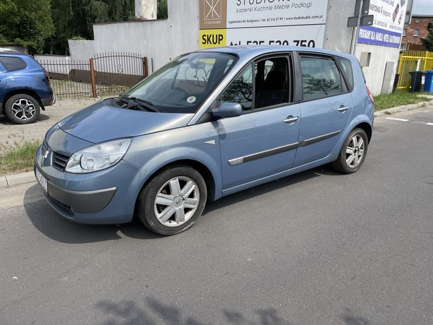 Renault scenic 2006 rok 1,6 benzyna