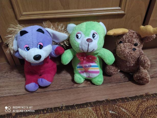 Мягкие маленькие игрушки
