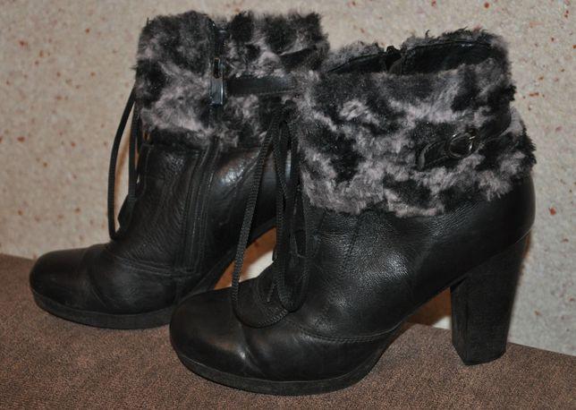 Шкіряні черевики (ботинки)