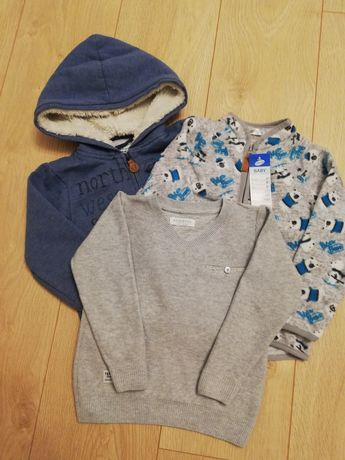 Bluza, polar, sweter Reserved, Cool Club, Pepco r. 92