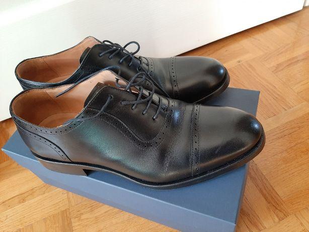 Pantofle skórzane męskie NOWE