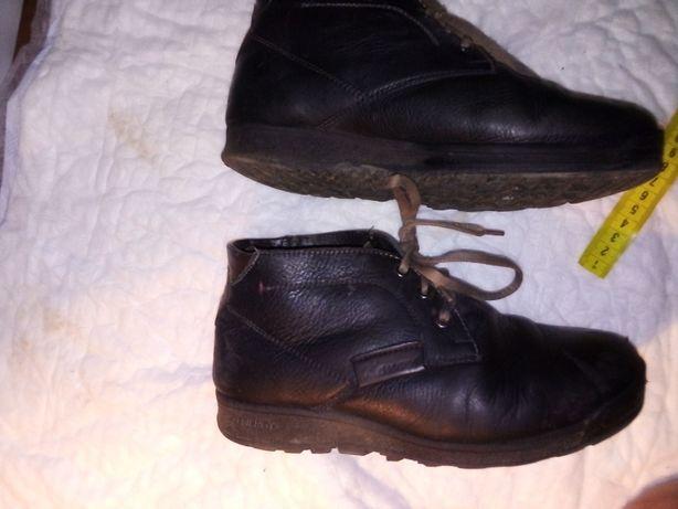 ботинки кожаные зимние 37р.