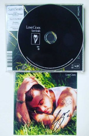 Sam Smith / Love Goes CD z autografem !!!