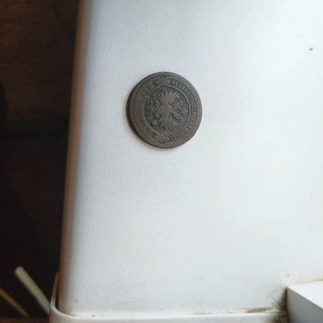 Продам монету 2 копейки 1903 года в отличном состоянии