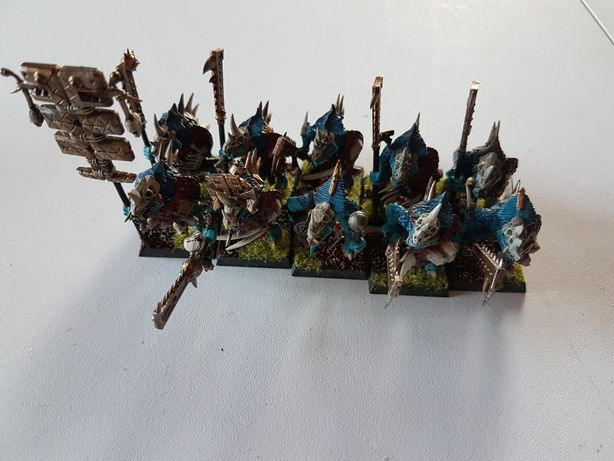 Temple Guards Lizardman Warhammer FB