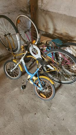 Stare Rowery 3 sztuki