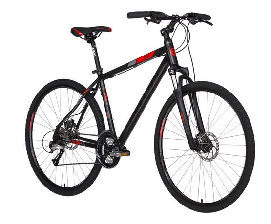 Rower KELLYS CLIFF 90 czarno-czerwony KRAKÓW skradziony NAGRODA