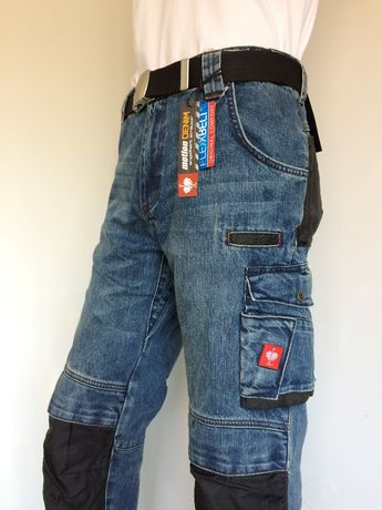 spodnie strauss jeans motion r.44-58 robocze dżins struś f.VAT BECK