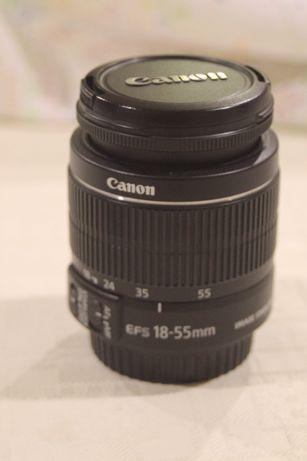 Objectiva Canon EF-S 18-55 IS II como nova