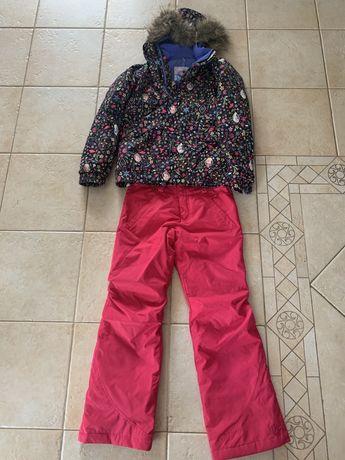 Kurtka i spodnie Burton zestaw dla dziecka rozm.L licencja Frozen