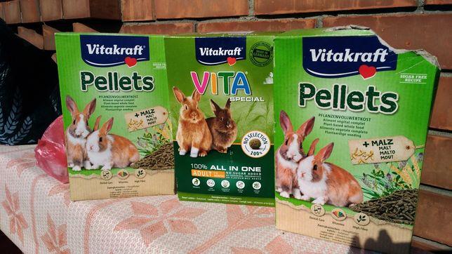 Корм для кролика vitakraft elit
