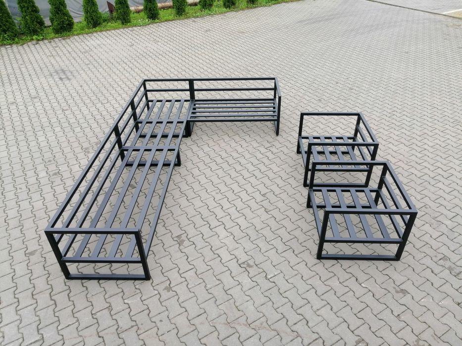 Meble ogrodowe, na taras, industrialne projekty NietypoweMetalove Mysłowice - image 1
