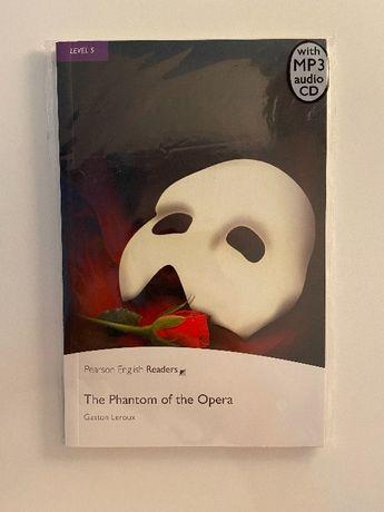 Upiór w operze G. Leroux, książka w j. angielskim