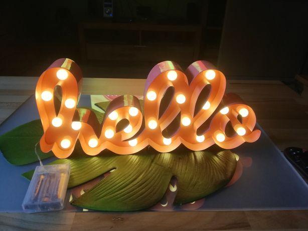 Ozdoba, hello, lampki