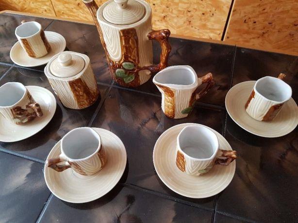 Serwis kawowy porcelana PRL
