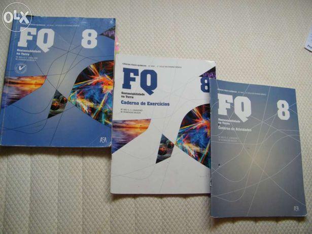 Livros Escolares Ciências Físico-Químicas 8º Ano