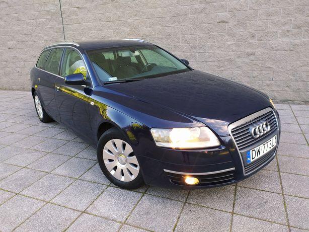 Zadbana Audi A6 C6 2.0 TDI 140KM 11 lat w jednych rękach 2005 Zamiana