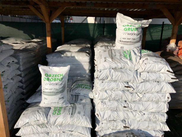 Węgiel ORZECH GRUBY workowany | SUCHY! transport gratis! | 1 tona
