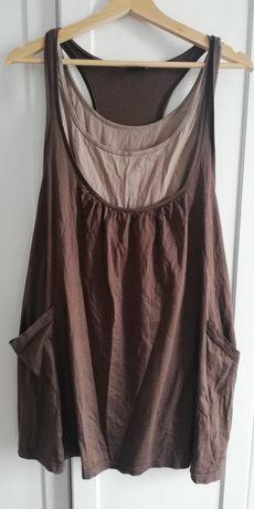 Tunika bluzka koszula na lato Ginatricot roz S 36 M 38