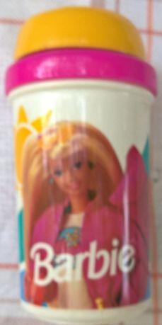 Чашка кружка стакан непроливайка в подарок Barbie