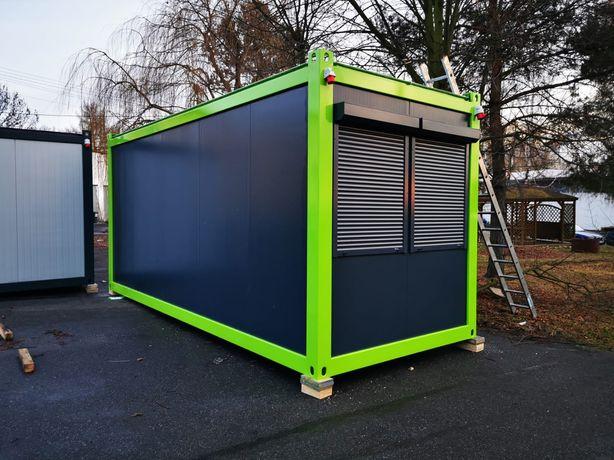 Kontener biurowy / kontener budowlany / stróżówka