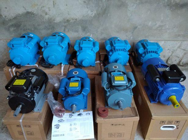 Электродвигатель однофазный 4квт,3квт,2.2квт 220В НОВЫЙ! Електродвигун