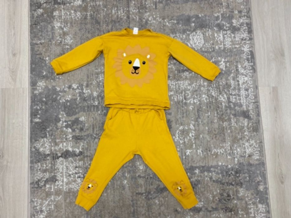 Детский костюмчик - штаны штанишки и кофточка реглан H&M 3-4г Киев - изображение 1