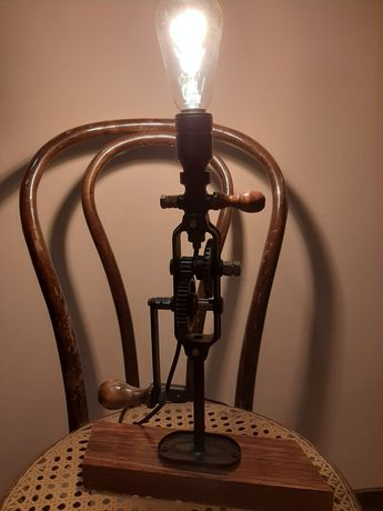 Lampa handmade w stylu loft