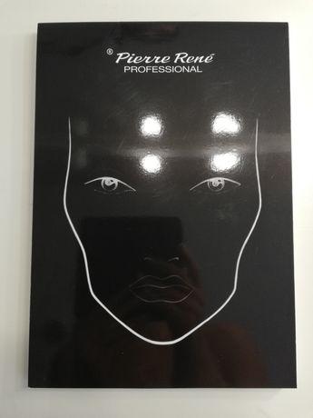 Pierre Rene face chart blok