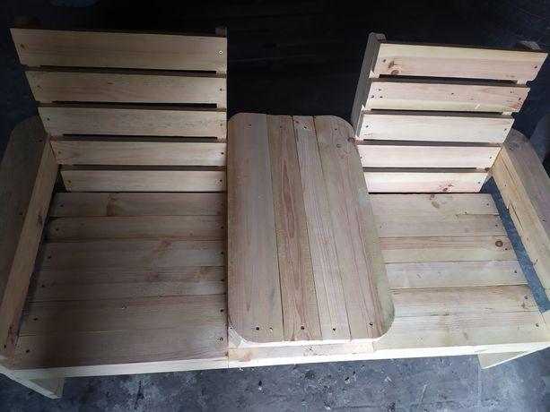 Fotele ogrodowe ze stolikiem