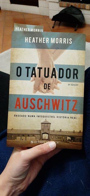 Livro O Tatuador de Auschwitz