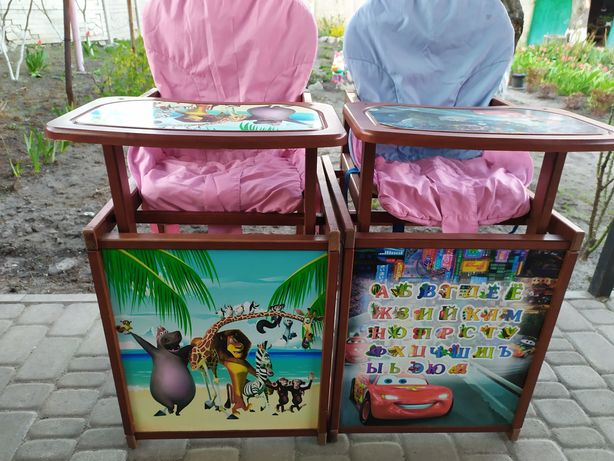Продам детские стульчики для кормления.
