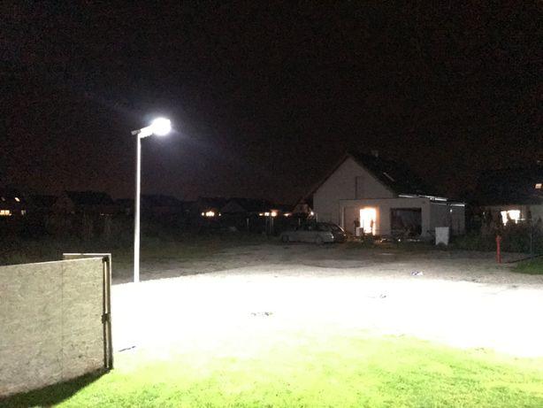Lampa solarna LED 300W 240 diod kompletna usługa z transportem i monta