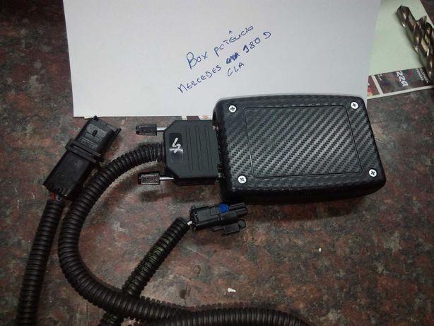 Box de potência Mercedes 180 D CLA, digital tuning