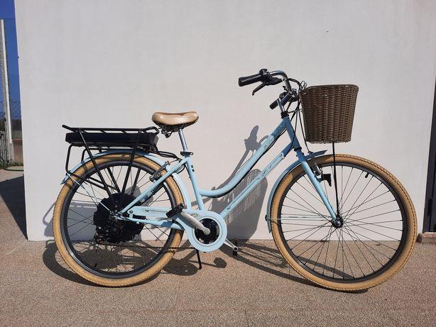 Bicicleta eletrica de senhora