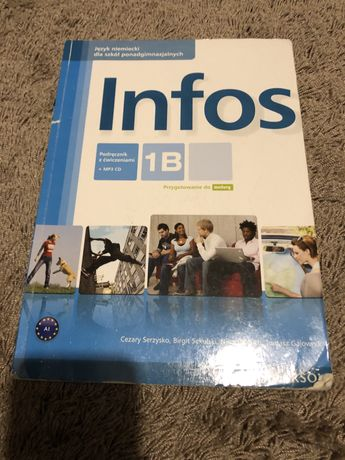 Książka Język Niemiecki Infos 1B