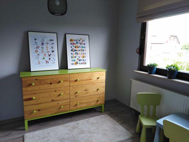 Komoda i łóżko dla dziecka