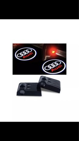 Kit Projector projetor LED Para Portas carro Audi - Novo