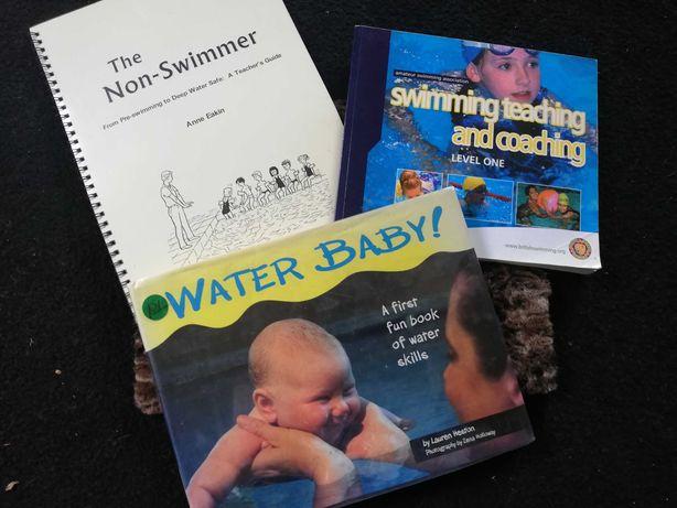 Książki nauka pływania HIT water baby
