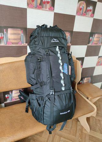 Рюкзак тактический туристический на 80 литров очень хорошего качества