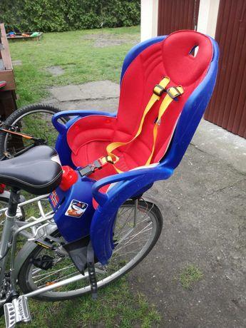 używany fotelik rowerowy HAMAX