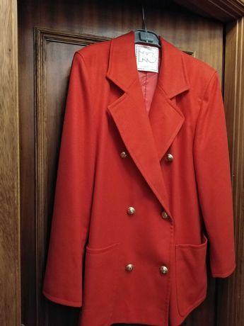 Casaco blazer vermelho