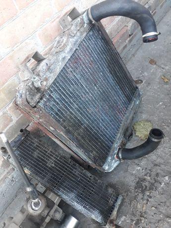 Продам радиатор газ 21