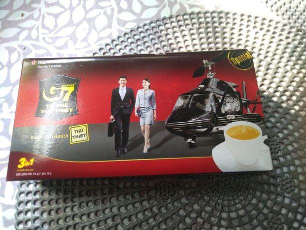 Wietnamska rozpuszczalna kawa 3 w 1, G7
