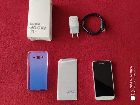 Telefon Samsung J3 (6) komplet bez blokad B.DB stan biały
