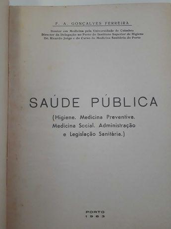 Livro 1 edição raro Saúde Pública 1963