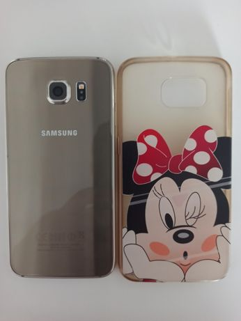 SAMSUNG GALAXY S6 Mickey mouse Stan Idealny