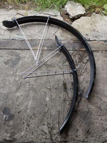 Błotniki rowerowe z chlapaczami nowe